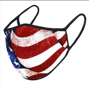 Other - Any 2 $25 3 Ply USA Made USA Flag Face mask